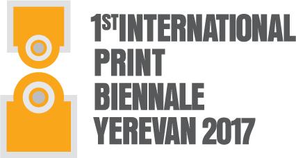 Logo der ersten Druckgrafikbiennale Jerewan